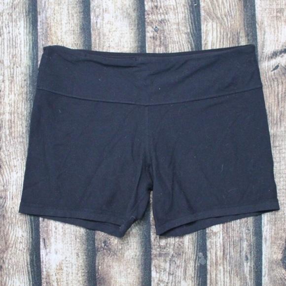 Lululemon Black Spandex Shorts Size 10